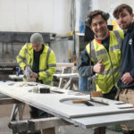 rock and co fabrication staff, pedro, kieran and tom