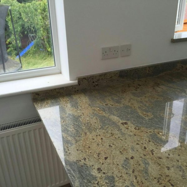 kashmir gold granite worktops